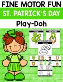 Fine Motor Fun: St. Patrick's Day Play-Doh