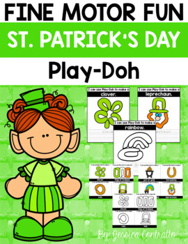 Fine Motor Fun: St. Patrick's Day Play-Doh