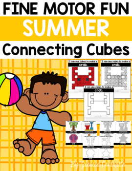 Fine Motor Fun: Summer Connecting Cubes