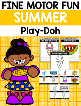 Fine Motor Fun: Summer Play-Doh