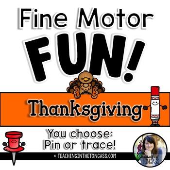 Fine Motor Activities (Thanksgiving)