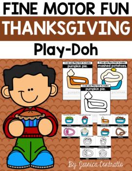 Fine Motor Fun: Thanksgiving Play-Doh