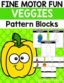 Fine Motor Fun: Vegetable Foods Pattern Blocks
