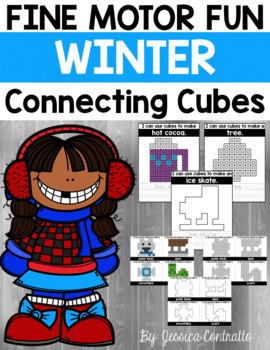 Fine Motor Fun: Winter Connecting Cubes