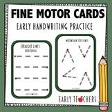 Fine Motor Handwriting Tracing Cards
