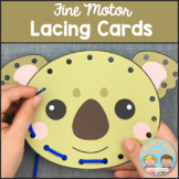 Fine Motor Lacing Cards
