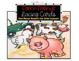 Fine Motor Lacing Cards: Farm Friends