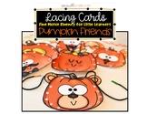 Fine Motor Lacing Cards: Pumpkin Friends