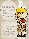 Fine Motor Lesson plans for Autism