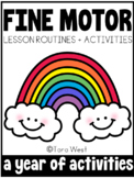 Fine Motor Lessons and Activities