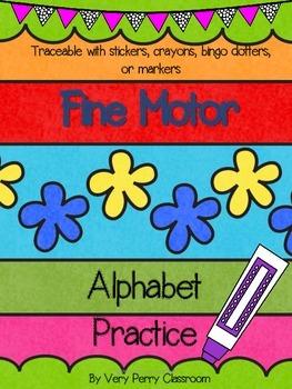 Fine Motor Letter Formation