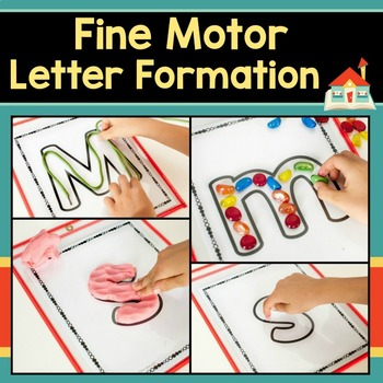 Fine Motor Letter Formation Practice