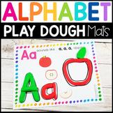 Fine Motor Letter of the Week: Playdough Alphabet Mats