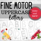 Fine Motor Letters- Uppercase