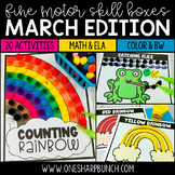 Fine Motor March Activities   March Morning Work