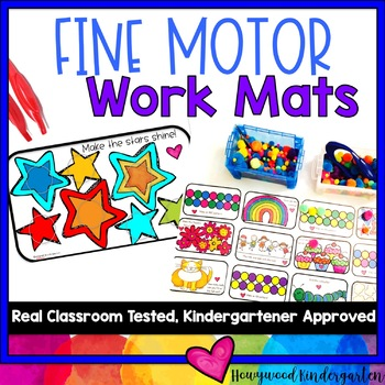 Fine Motor Mats for Brain Boxes, Exploration Boxes, Busy B