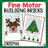 Fine Motor Mats for Christmas   Building Bricks