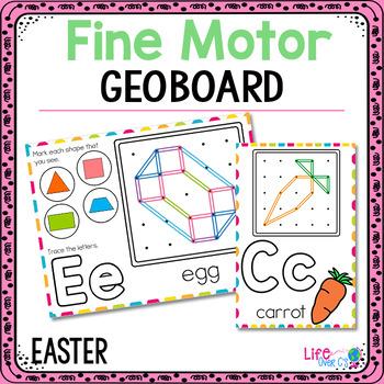 Fine Motor Mats for Easter   Geoboards