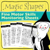 Fine Motor Monitoring Sheets