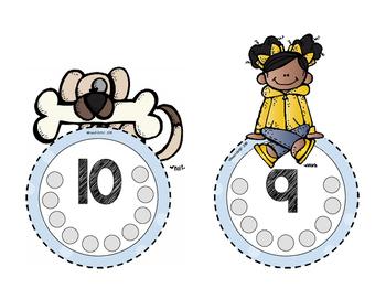 Fine Motor & Number Practice Cards