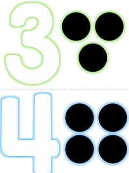 Fine Motor Number and Letter Practice Mats