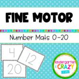 Fine Motor Number Mats