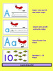 Fine Motor PUNCH AND WRITE Bundle Pack! ABC's and 123's