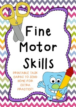 Fine Motor Packs {SEND HOME} Play dough, scissors, hand strength!