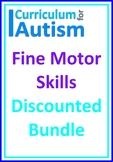 Fine Motor Pencil Skills BUNDLE Autism Task Box Activities OT
