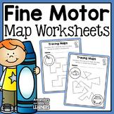 Fine Motor Practice Maps