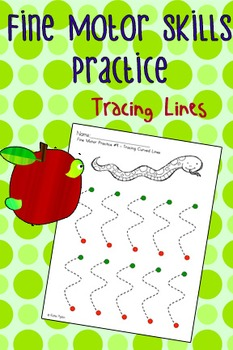 Fine Motor Practice Pack - Tracing Lines
