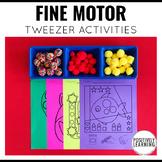 Fine Motor Tweezer Mats