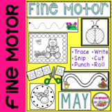 Fine Motor Practice for May