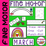 Fine Motor Practice for March