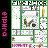Fine Motor Practice for the Year BUNDLE