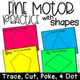 Fine Motor Practice with Shapes