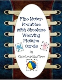 Fine Motor Practice with Shoelace Weaving Picture Cards