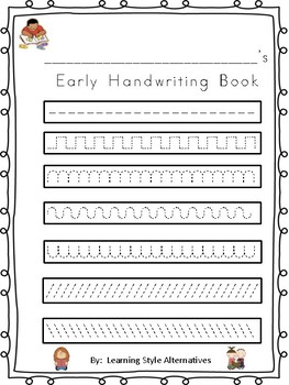 Fine Motor/ Pre-Handwriting Practice