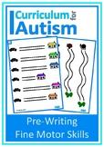 Fine Motor Pre Writing Skills Autism Task Box