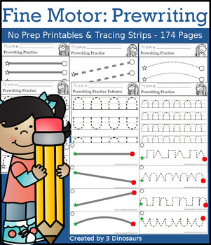 Fine Motor: Prewriting