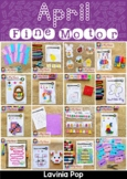 Fine Motor Printable Activities for April