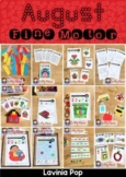 Fine Motor Printable Activities for August Morning Tubs   Bins