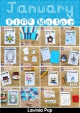Fine Motor Printable Activities for January