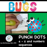 Fine Motor Pokey Pin Punch Dot Alphabet
