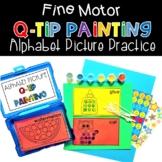Fine Motor QTip Painting Alphabet Pictures Phonics Activit