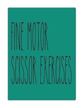 Cutting exercises - Fine Motor Task