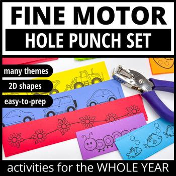 Fine Motor Skills Activities | Hole Punch Activities
