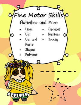 Fine Motor Skill Activities and More