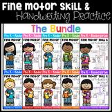 Fine Motor Skill and Handwriting Practice (Growing Bundle)