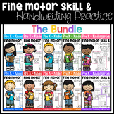 Fine Motor Skill and Handwriting Practice (Growing Bundle)